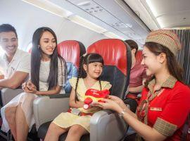 Trẻ em đi máy bay Vietjet cần giấy tờ gì?